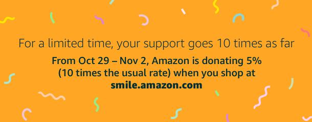 Amazon Donating 5%
